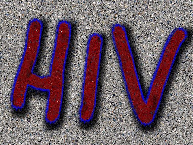 nápis hiv