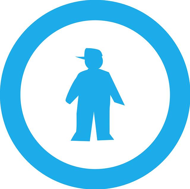 muž v kolečku
