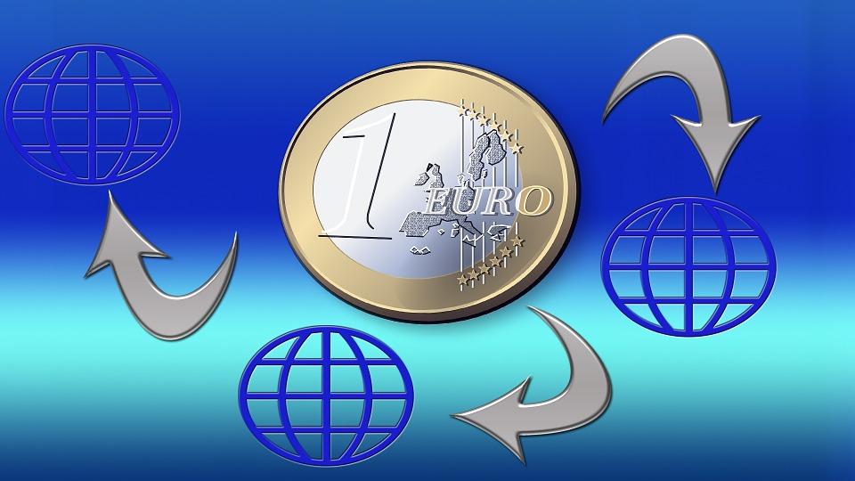 oběh eura