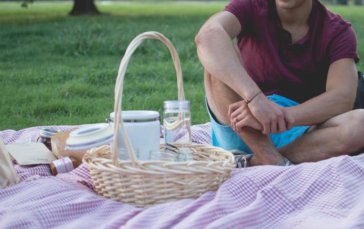 piknik s mužem